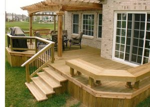 deck hero - backyard deck
