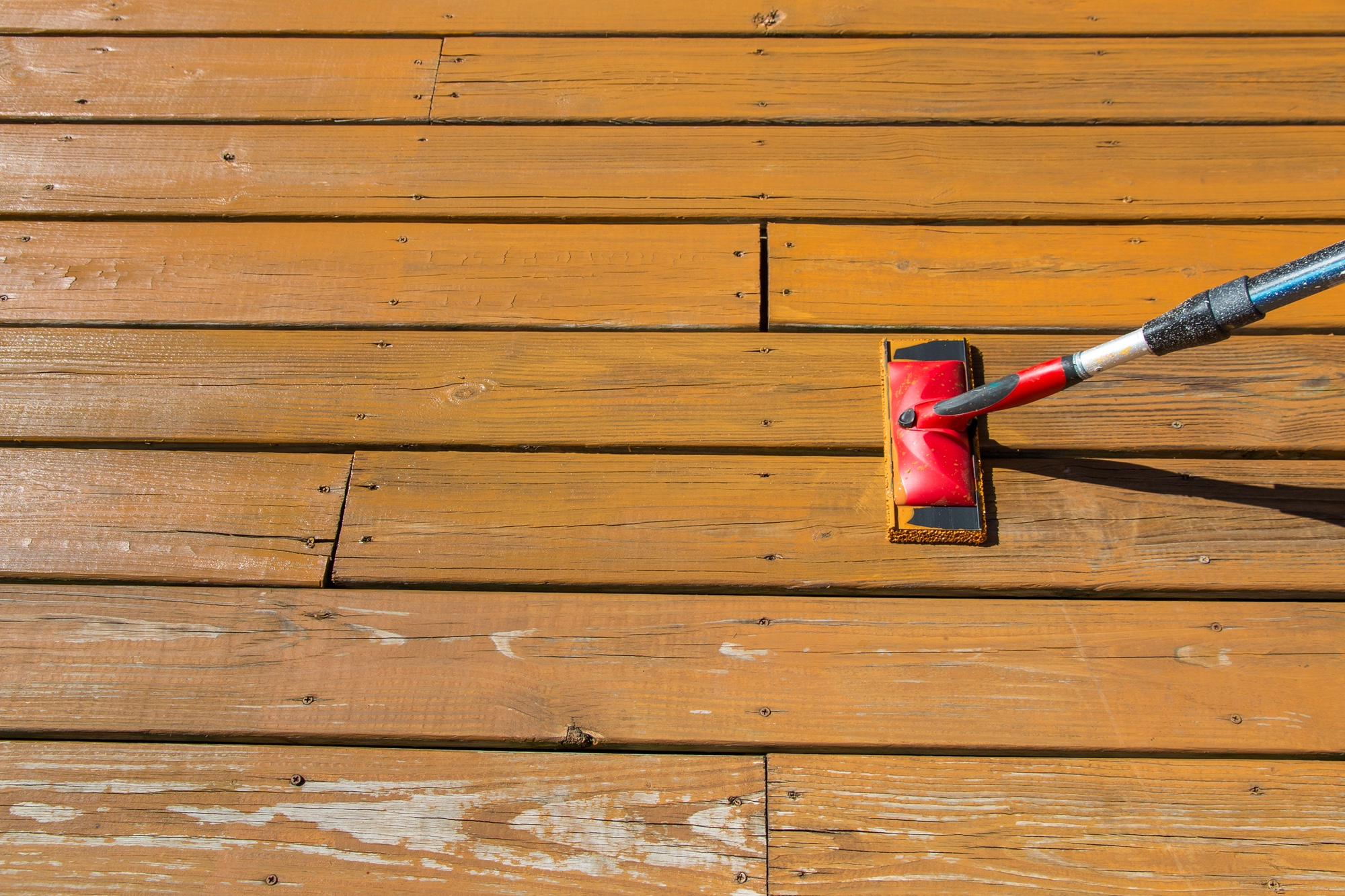 deck hero - deck stain