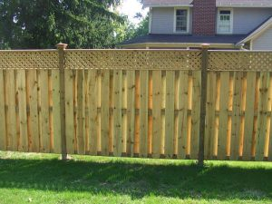deck hero - fence staining